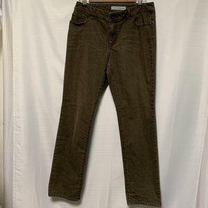Chico's platinum denim jeans size 1.5 flaw